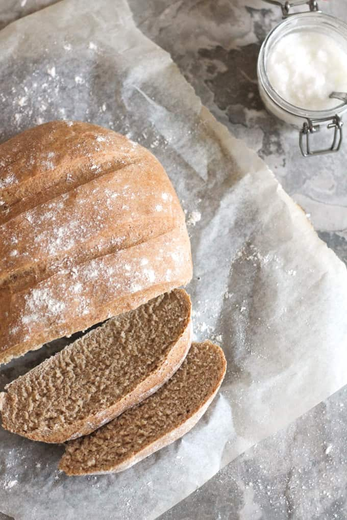 Our Favourite 90-Minute Bread | Raising Sugar Free Kids - a simple 90-minute bread that is our family favourite. We make this weekly and it has always turned out delicious. Really soft and yummy!