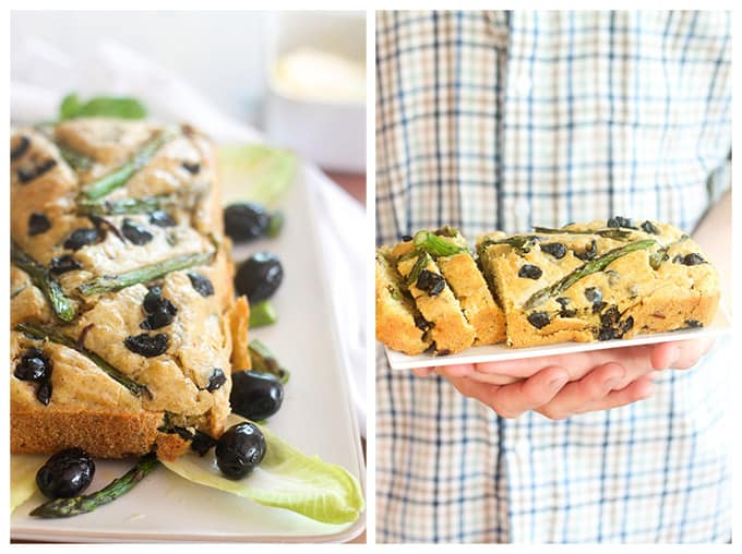 """Asparagus & Olive Loaf 