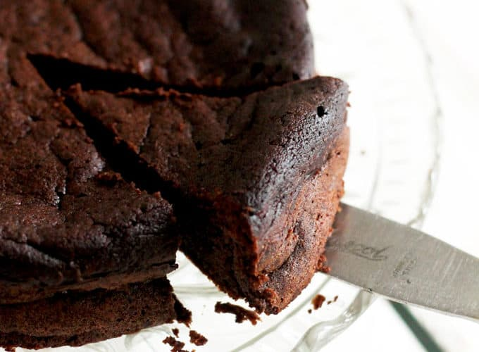 Sugar Free Flourless Chocolate Cake