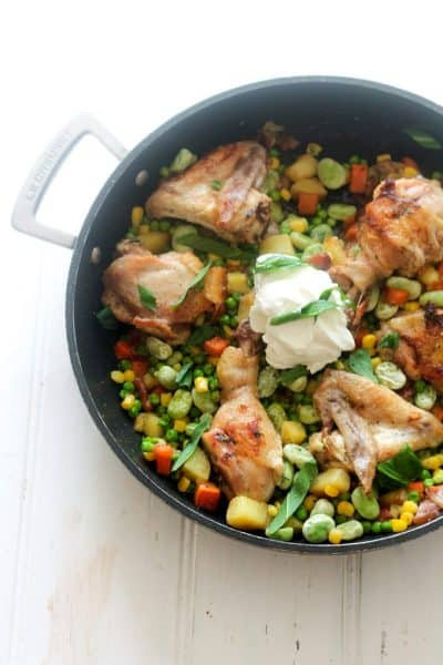One-Pan Spring Chicken & Vegetables