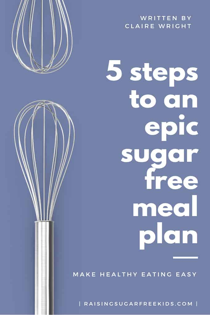 Meal Planning 101: How I Learned to Plan for a Week in Half an Hour | Raising Sugar Free Kids - my top 3 resources for meal planning to save your time, budget and health!