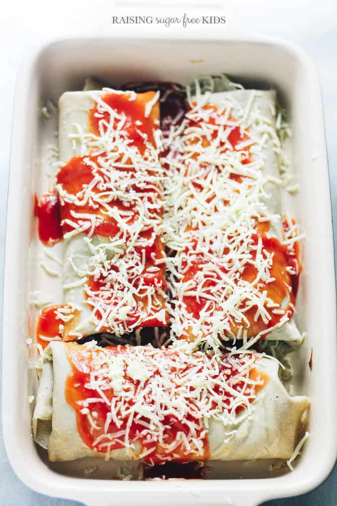 """Spinach & Ricotta Baked Pancakes 