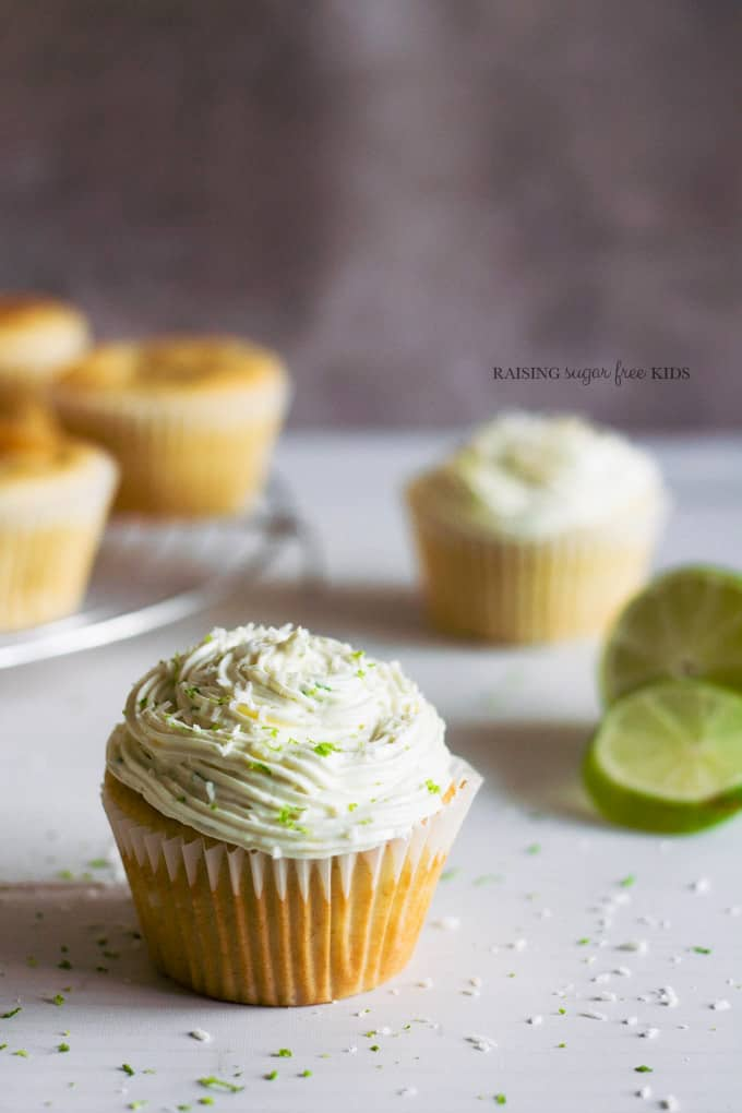 Sugar Free Lime Cupcakes With Gluten And Dairy Free Options